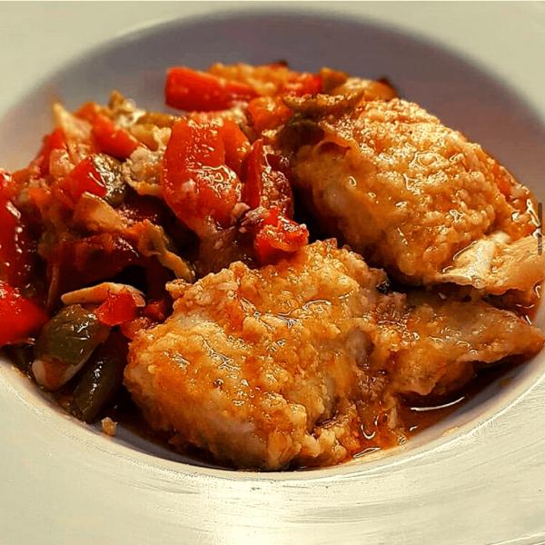 receta bacalao con pimentón de la Vera