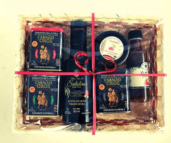 cesta para regalo