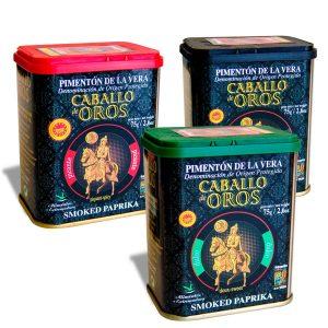 pack regalo latas pimentón de la vera