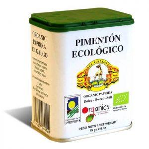 pimentón ecológico El Galgo