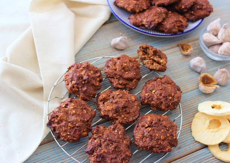 cookies de higos secos